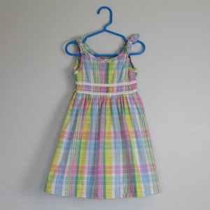 Lilly Pulitzer Multi-colour Plaid Summer Dress